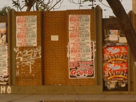 Afiche en Lima