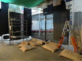 Vista de instalación: Shed im Eisenwerk, 2016