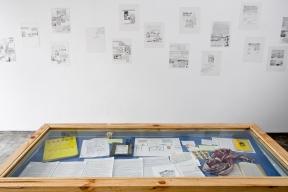 Vista de exposición. Galería 80m2, 2008